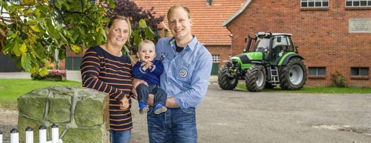 Linda und Philipp Verwold und Bernd Knief-Verwold aus Bad Bentheim