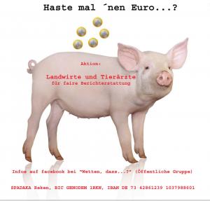 aktuelles Spendenschwein