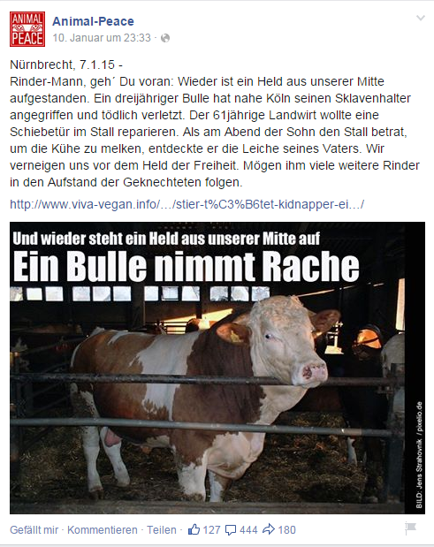 Snapshot bei Animal-Peace (facebook) in 2015