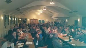 Der Saal war voll besetzt