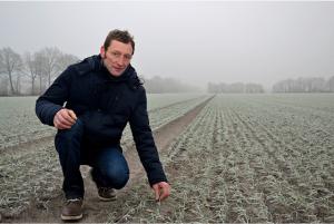 Wird das LROP umgesetzt, wächst auf den Flächen von Jürgen Walburg bald kein Getreide mehr. Foto: Landvolk (VEL)