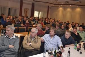 Rund 150 Teilnehmer diskutierten über steigende Auflagen in der Landwirtschaft. (c) Knoll, VEL