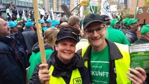 ich mit Heike Müller aus Mecklenburg-Vorpommern