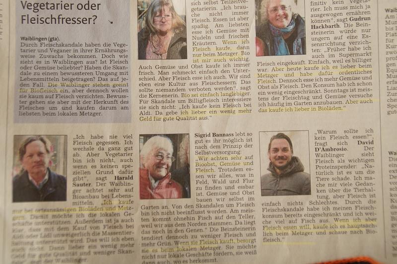aus der Waiblinger Kreiszeitung vom 1. April 2016