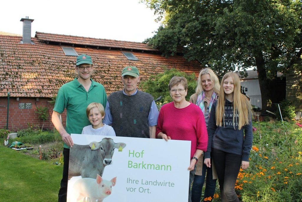 Familie Barkmann freut sich auf Ihren Besuch