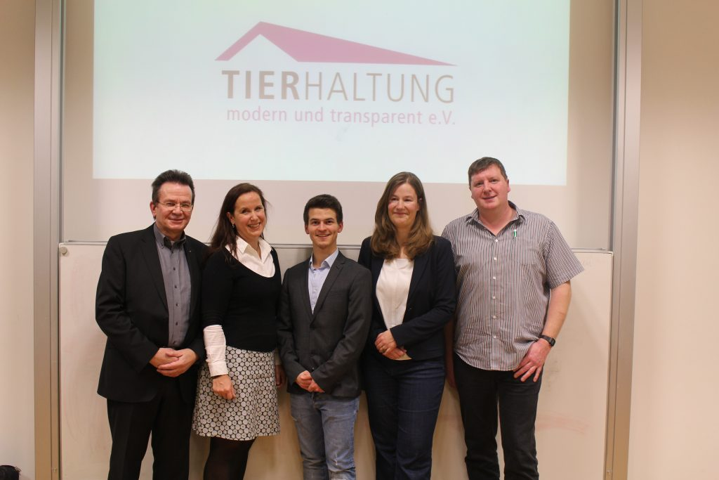 Die Referenten: Gerhard Schmidt, Karin Schnitker, Thomas Fabry, Oda Lambrecht, Thomas Ostendorf (v.l.n.r.) (c) TMT e.V.