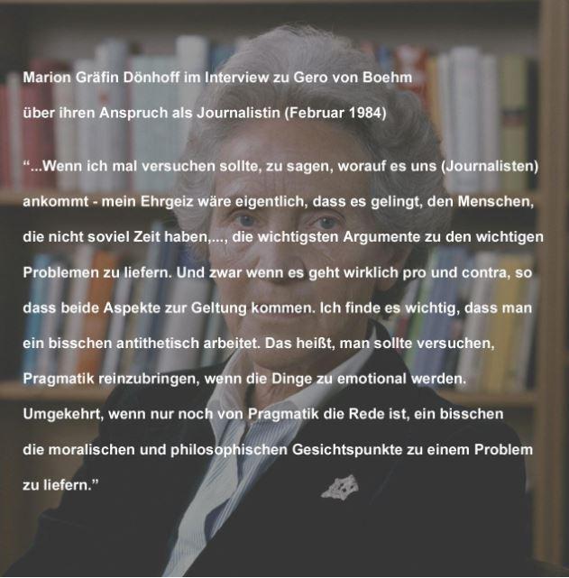 Zitat Marion Gräfin Dönhoff
