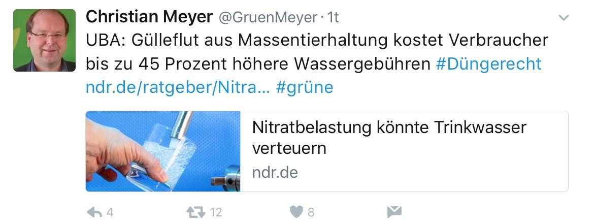 Gruen-Meyer verliert Konjunktiv