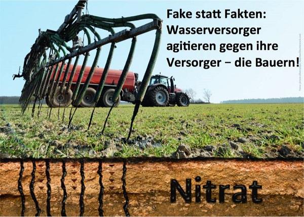 Fake statt Fakten: Wasserversorger agitieren gegen ihre Versorger - die Bauern!