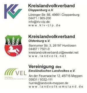 Logo der Landvölker aus Emsland, Cloppenburg und Oldenburg