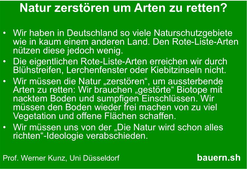 Naturschutz überdenken?