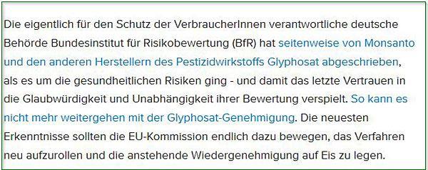 Screenshot Webseite Bundestagsfraktion Bündnis 90/Die grünen