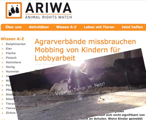 Screenshot von der Facebookseite des Bauernverbandes Schleswig-Holstein