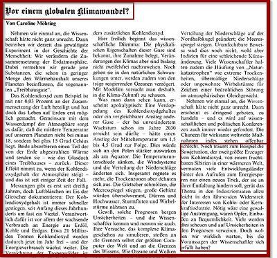 Screenshot FAZ-Artikel