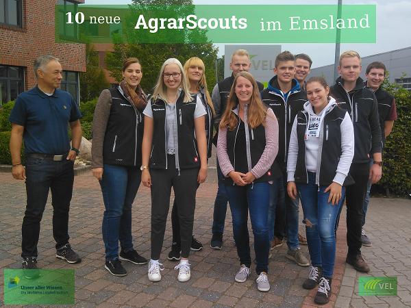 10 neue Agrarscouts im Emsland