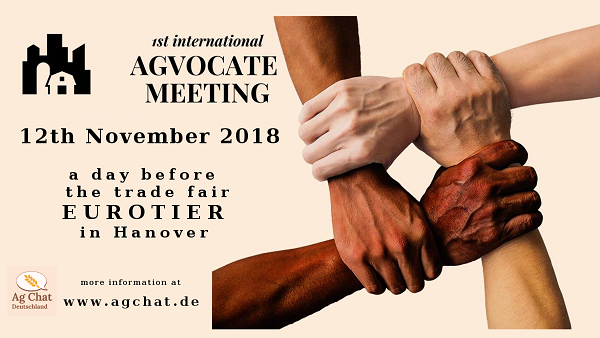 1st international AgVocate Meeting in Hanover