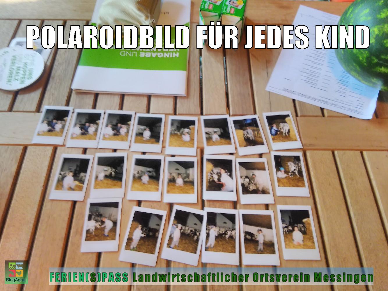 Polaroidbild für jedes Kind