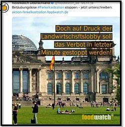 Screenshot mit Reichstag