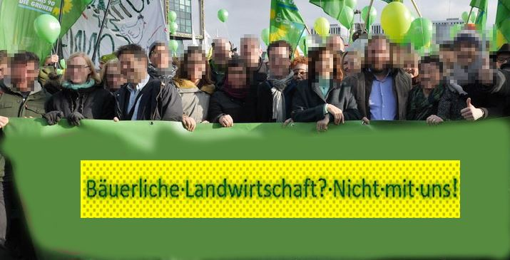 Grüne hinter grüner Bande