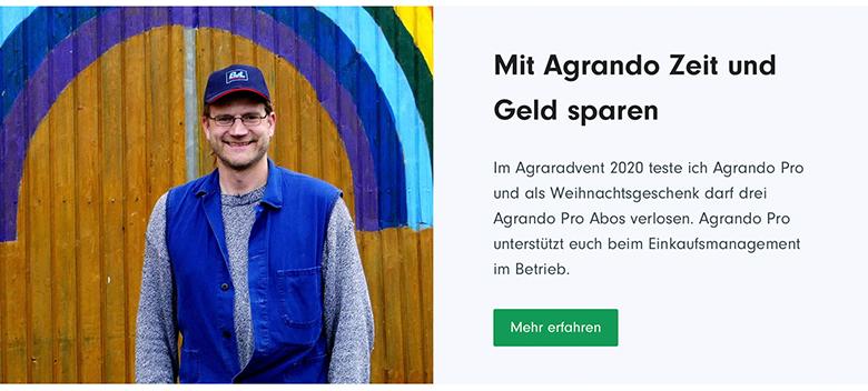 Interview im Agrando-Magazin