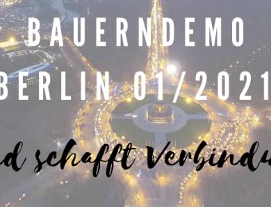 Zur Bauerndemo in Berlin