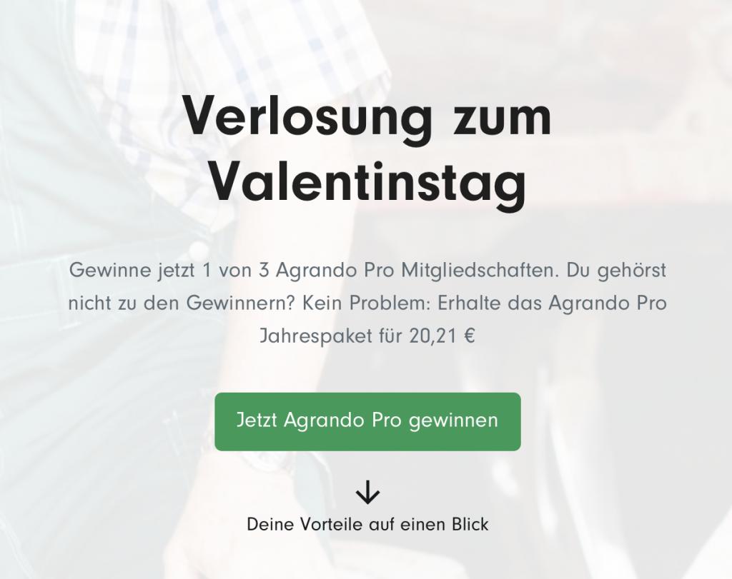 Werbung: Verlosung zum Valentinstag