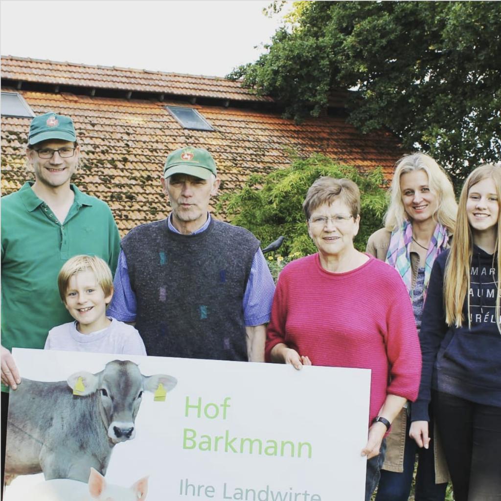 Liebe Familie Barkmann